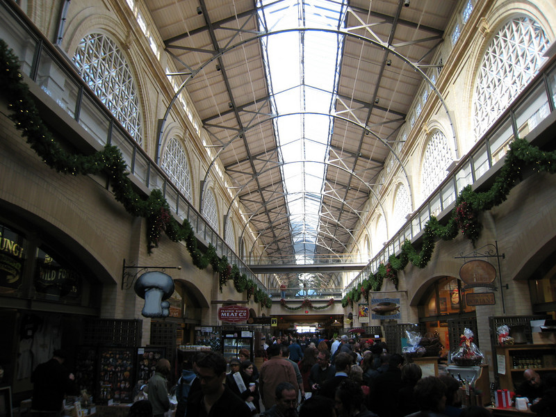 The old Ferry Building is now a monument to fancy food.