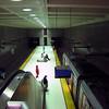 Drab muni metro architecture in San Francisco.