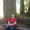 Mom at Muir Woods.