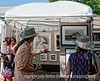 Folks enjoy the art at the Cherry Creek Art Festival; best viewed in the largest sizes