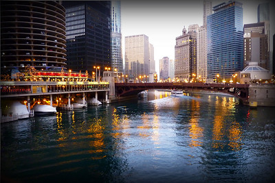 Chicago from the river