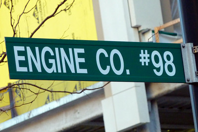 Engine 98 Sign