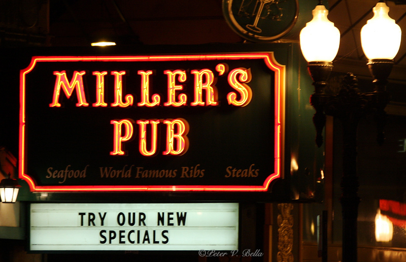 Miller's Pub is the oldest continuing restaurant in Chicago.