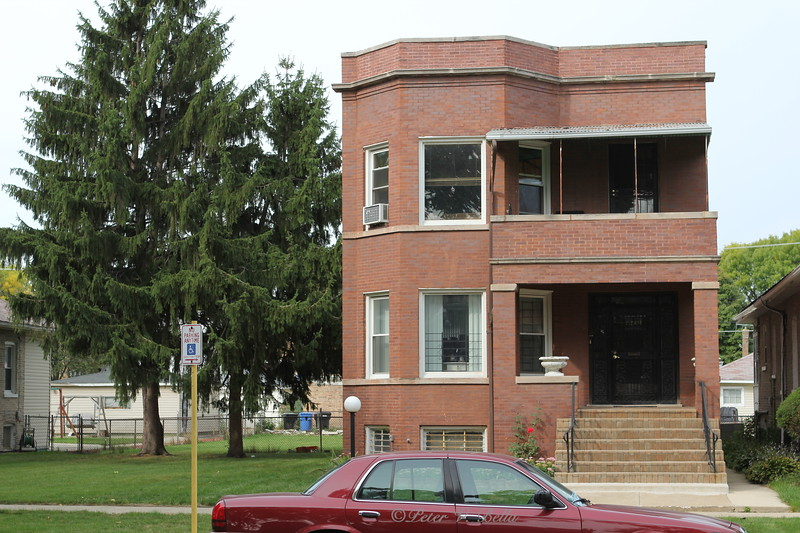 This is the home Al Capone built for his wife, son, mother, and family in Chicago's Grand Crossing Neighborhood.