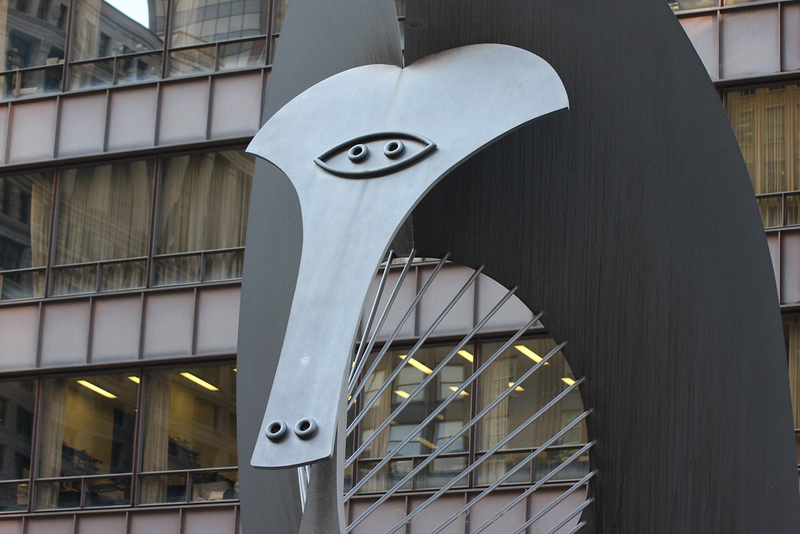 The Picasso in the Daley Center.