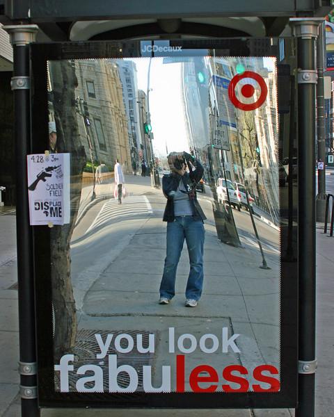 Self Portrait on Michigan Avenue - Chicago IL