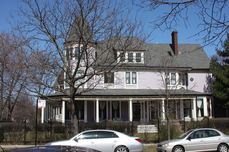 Abbot House was built by the founder of Abbot Labs. Poet Carl Sandburg was a frequent visitor as he owned a home down the street.