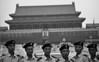 048  Beijing - Tiananmen Square, military before entrance forbidden city