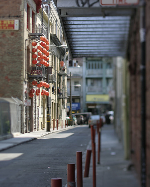 Alley, Chinatown, San Francisco, July 2008