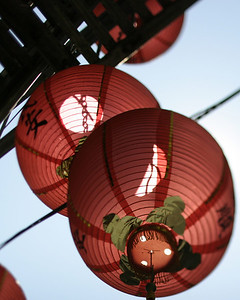 Red Lanterns, Chinatown, San Francisco, July 2008