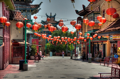 Chinatown, downtown Los Angeles