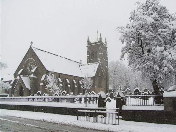 Church in Mid Winter 2010