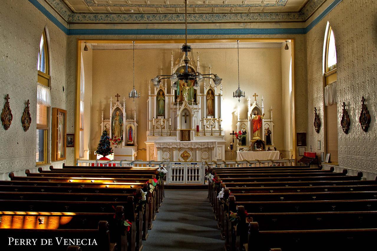 Holy Family  Church, Jerome AZ