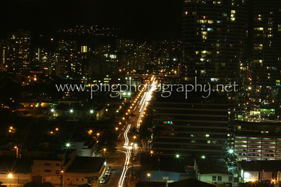 """Light"" traffic on Pensacola Street, Oahu, HI. 2009."