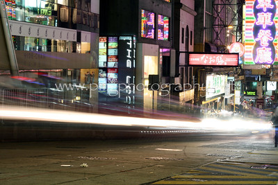 A typical Friday night in Central, Hong Kong.   Copyright © 2011 Patrick M. Gee.  All rights reserved, 110624