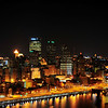 Pittsburgh night reflections