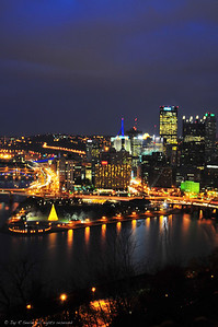 downtown Pittsburgh from Mt Washington