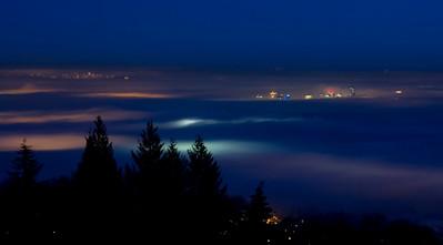Foggy Vancouver (January 20)
