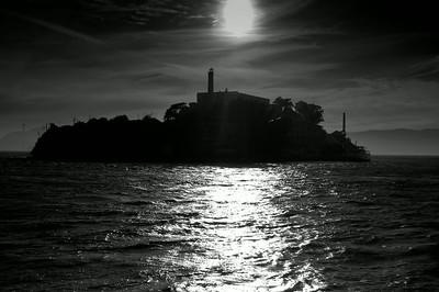 Alcatraz B&W