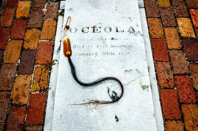 Oceola Grave in Charleston, South Carolina