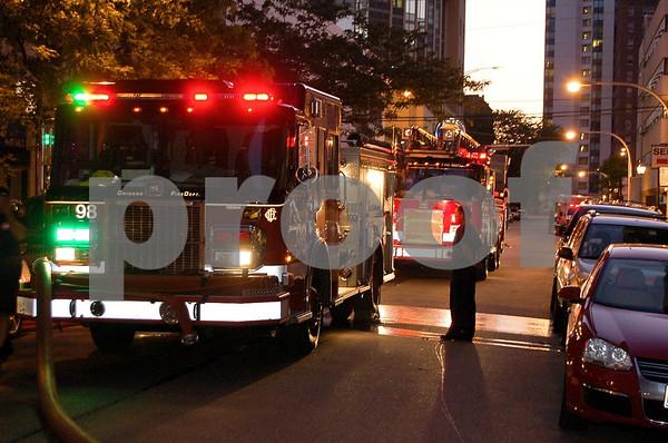 Dearborn & Maple Fire