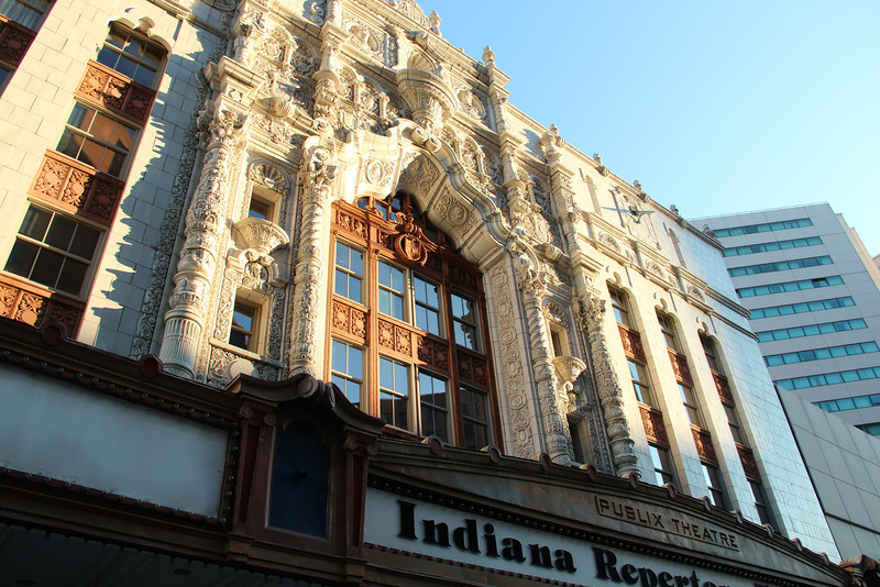 IRT - Indiana Repertory Theatre.   I've seen some really great plays performed in this beautiful building.