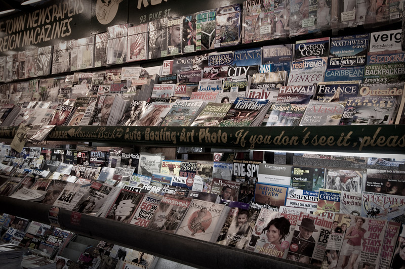 Magazines:  A sign of the Times