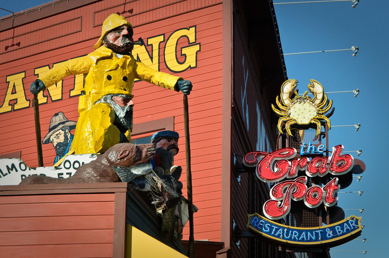 The Crab Pot:  Seattle Waterfront