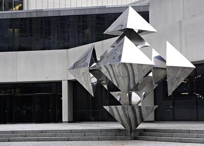 Sculpture at RJR building