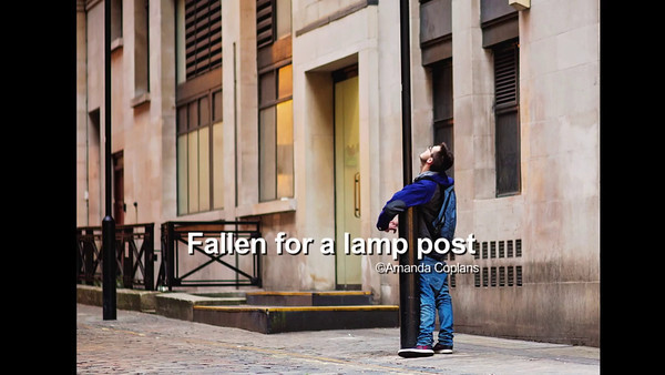 Fallen for a Lamp post