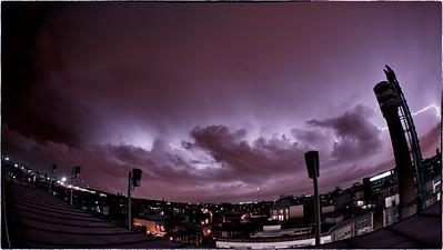 Lightning Over Dublin November 2010