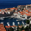 Dubrovnik, Croatia -  from the hill above