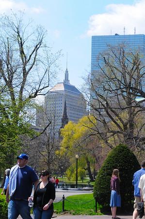 EASTER SUNDAY ON BOSTON'S PUBLIC GARDEN & COMMON