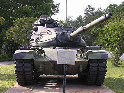 Tank on display, Edgefield, SC