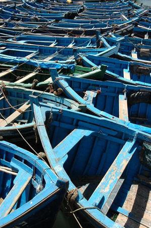 Essaouia's Blue Marocco Sept05