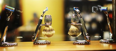 Display for the Shaving Store.
