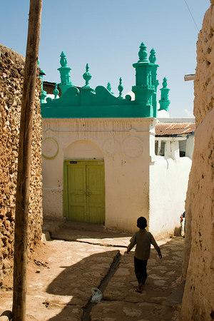 the egyptian mosque, old harar, ethiopia