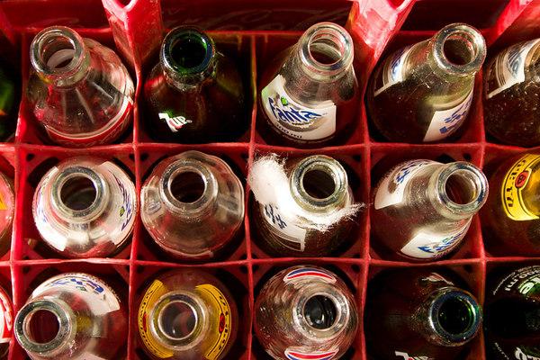 soda bottles and cotton candy, addis ababa, ethiopia