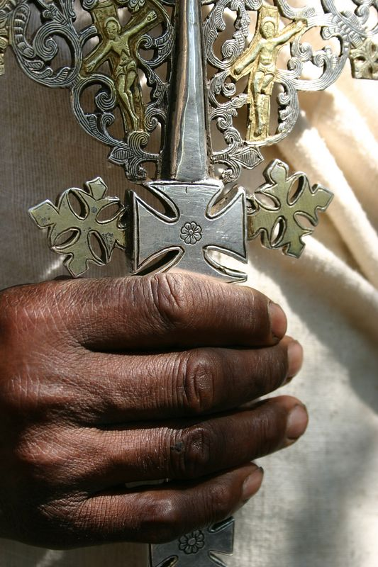 another holy cross at narga selassie, lake tana, ethiopia
