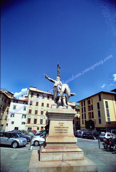 Florence Pisa statue