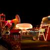 Exchange Club Fairgrounds at Night in Brunswick, Georgia 11/09/07
