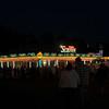 Exchange Club Fairgrounds at Night in Brunswick, Georgia 10-08-10