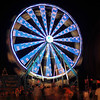 Exchange Club Fairgrounds at Night in Brunswick, Georgia 10-05-12