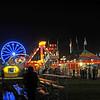 Exchange Club Fairgrounds at Night in Brunswick, Georgia 10-05-12