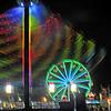Exchange Club Fairgrounds at Night in Brunswick, Georgia 11-02-13
