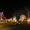 Exchange Club Fairgrounds at Night in Brunswick, Georgia 11-07-14