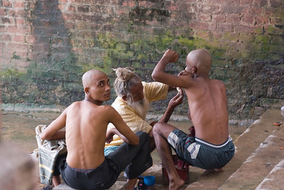 Remove all hair before doing your father's last rites
