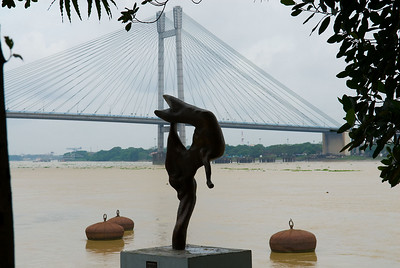 The new bridge across the water