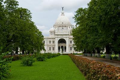 Victoria Memorial - Cloudy day