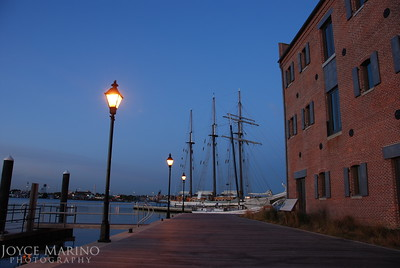 Early morning pier shot from Fells Point in Baltimore's Inner Harbor, #0030